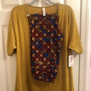 New Lularoe XL Perfect T and TC leggings